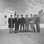 da sx P. Campolo, G.Ritacco, Branca, dr L.Sangregorio, Scaramuzzo e T. De Gaetano