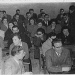 1959 Rossano - Convegno didattico - tra gli altri, ispettore V.Minisci,S.Conte,M.Cumino,T.Brunetti,T.Caloroso,A.Godino.