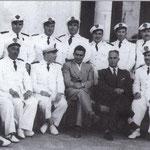 1954-seduti da sx,D.Altomonte,A.Santacaterina,G.Merincolo,M.Adimari(com.)G.Spezzano(sindaco)A.Romeo(segretario c.),A.Pirro,V.Candia. In piedi da sx,L.Ferrarese,G.Guidi,G.Tieri,A.Lavorato,F.De Luca,F.Policastri,F.Pasqua,R.Chiurco,P.Romano,G.Vena,G.Guglelmo