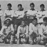 1964 Polisportiva Corigliano Da sx in alto Amato,Granato,Salimbeni,Romanelli,Mezzotero,Scarfò,in basso, Caruso, Andreassi,De Rosis,De Rose,Belsito