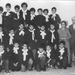 Metà anni '60,(in alto 1.a fila-da sx) Gentile,Gagliardi,Spezzano,Graziani,Zanfino,Filomeno,OlivieriS.,Olivieri G, 2.a fila-Sammarro,Scarcella,Campana,Balestrieri,Fusaro,RealeS, 3.a fila-La Macchia,OlivieriG,Reale F,Morrone,Chiaradia,Longo(foto M.Cimino)