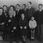 Fine anni '50 La famiglia dei Tortorella(a breve i nomi di tutti)
