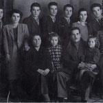 1951 la famiglia di Giuseppe Pettinato