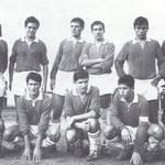 1964 in piedi da sx Cufari, Romanelli, Scura,Granato, Mezzotero, Tocci, accosciati da sx Branca, Amato, Belsito, Salimbeni e Rocco
