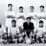 1966 Artoni,Scaramuzzo, Branca, Prantera, Belsito,Granato( accosciati)Salimbeni, Ferraro, Menozzi, Camodeca,Varquez
