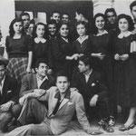 28/5/!949 - 3° Liceo al Garopoli -(in basso da sx) A.Donadio,L.Luzzi,P.Salcina,P.Santella,F.Visciglia,F.Scarcella,R.Liguori,M.Cumino,A.Ciampi,L.Capalbo,L.Maronna,A.Nicoletti,L.Pucci,Apa,Capalbo,G.De leo,G.Malavolta,T.Mazziotti