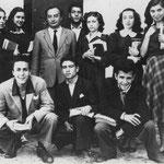 28/5/1949 - 3° Liceo Al Garopoli - (in basso da sx) P. Salcina,P.Santella,L.Pucci,M.Cumino,L.Capalbo,prof. B.Arena,L.Luzzi,A.Ciampi,R.Liguori,F.Scarcella,