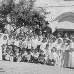 1-6-1958 Preparazione per la Prima Comunione e la Cresima
