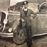 Anni '40 Carmine Brunito (autista presso la ditta Scura)