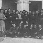 29/3/1949 Squadra femminile Liceo Educ.Fisica-Tra le altre,F.Visciglia,B.Maradea,M.Cumono,P.Tebano,N.Armentano,M.Avolio,M.Arnone,Canonico,R.Cozzolino,C.Donadio,S.Superchi,A.Malena,E.Figola,V.Scura(foto M.Cimino)