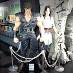フィギュア博物館ってのがあって。等身大のケンシロウ、ユリア