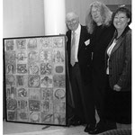 Mit Arno Krause und Roswitha Jungfleisch (Europäische Akademie Otzenhausen / Stiftung europäische Kultur und Bildung)