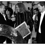 Mit Minister Joachim Rippel und Jo Leinen