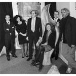 Mit Heiko Maas (Bundesjustizminister/Bundesaußenminister), Carmen, Andreas Storm (saarl. Gesundheitsminister), Charlotte Britz (Oberbürgermeisterin SB) und Frédéric Joureau (franz. Generalkonsul)