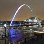 Newcastle Milleniums Bridge