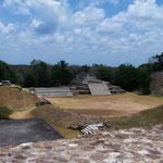 die Mayastätte Altun Ha