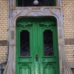 stilvoller Eingang