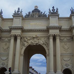 Ungers Seite vom Brandenburger Tor