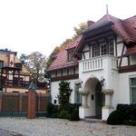 um 1900 erbaute Villa im damals beliebten Heimatstil