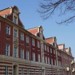 Große Holländerhäuser am Bassinplatz