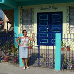 "mein ""seashell cafe"" in Dangriga"