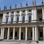 der wunderschöne Palazzo Chiericati