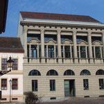 Am Neuen Markt Nr. 5 (zerstört) - moderne Rekonstruktion mit Fassadenannäherung ans Original