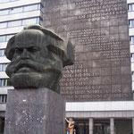 Karl Marx im Großformat