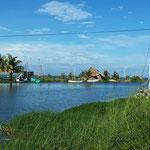 Dangriga - kleine Stadt an der Karibikküste