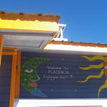 farbenfrohes Placencia