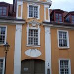typisches Barockhaus in der Innenstadt