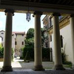 Innenhof des Palazzo Valmarana