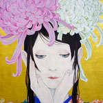 大菊 F6 問い合わせ可能/To inquire about this work,blease contact  to  Gallery KUNIMTSU    http://gka.tokyo/