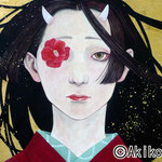 冬と鬼 M3 問い合わせ可能/To inquire about this work,please contact  to  Gallery KUNIMTSU    http://gka.tokyo/
