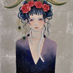 Hello from lonesome darkness  P10 →問い合わせ可能/To inquire about this work,blease contact  to  Gallery KUNIMTSU    http://gka.tokyo/