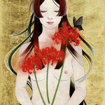 Harakara F4 問い合わせ可能/To inquire about this work,please contact  to  Corey Helford Gallery http://www.coreyhelfordgallery.com/