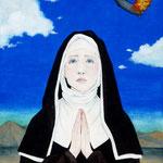 修道女と青い空 F6