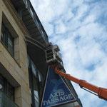 Fassadenschutz AXIS Leipzig
