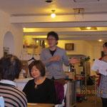 滞日アジア人女性の就労支援カフェ
