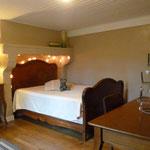 Schlafenzimmer in der Ferienwohnung