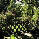 Im Garten der Ferienwohnung