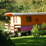 Zirkuswagen in Frankreich
