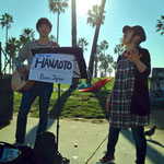 Los Angeles  Venice Beach  ストリートライブ   2013.12.20