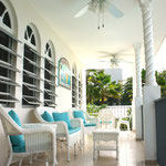 Upstairs Balcony at Beachside Villas