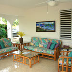 Poolside Living Area