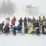スキー班集合