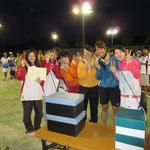 女子は新潟に負けて準優勝でした、、、残念。