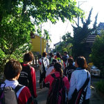 ガタニイは北海道民には暑すぎました。いい天気。