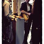 """Der Moment vor dem Auftritt - Nick Howard bei """"SWR3 Late Night"""", 14.2.2013"""