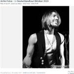 Acht: Touralbum auf Facebook